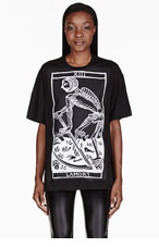 KTZ Black patch T-Shirt for women