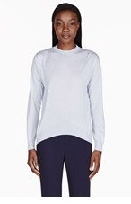 STELLA MCCARTNEY Pale blue crewneck sweater for women
