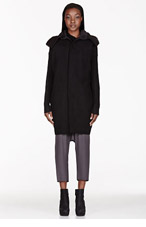 RICK OWENS Black Dagger Parka for women