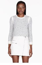 RAG & BONE Grey Presley Pullover Sweater for women