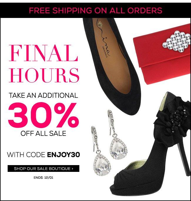 Weekend Sale Final Hours