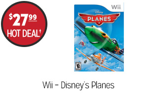 Wii – Disney's Planes - $27.99 - HOT DEAL‡