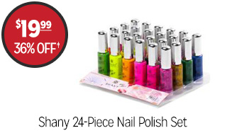 Shany 24-Piece Nail Polish Set - $19.99 - 36% off‡