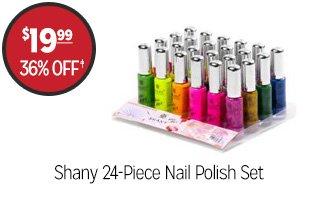 Shany 24-Piece Nail Polish Set - $19.99 - 36% off‡
