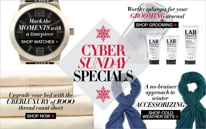 Shop Cyber Sunday Gifts Men
