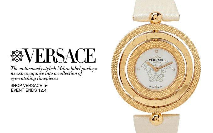 Shop Versace Watches Women & Men