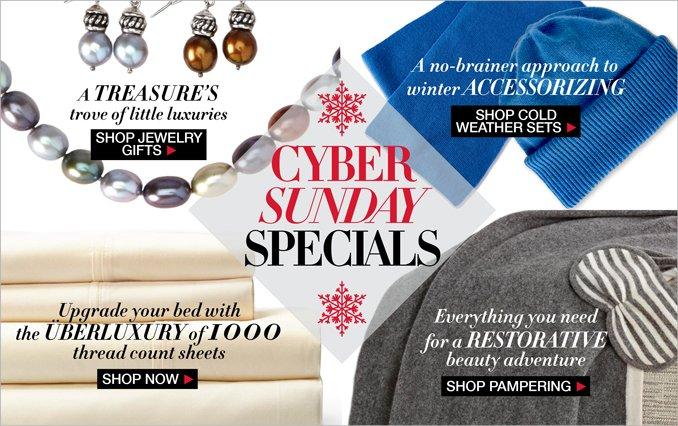 Shop Cyber Sunday Gifts Women