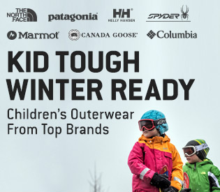 Kids' Outerwear From Top Brands
