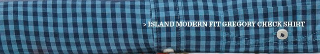 Island Modern Fit Gregory Check Shirt