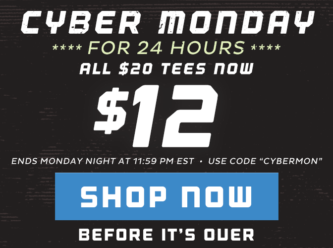 All $20 Tees Just $12 - Shop Now!