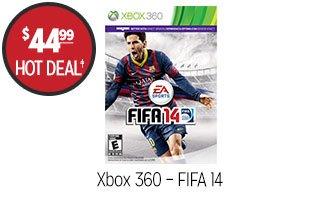 Xbox 360 – FIFA 14 - $44.99 - HOT DEAL‡