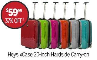 Heys xCase 20-inch Hardside Carry-on - $59.99 - 37% off‡