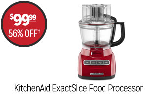 KitchenAid ExactSlice Food Processor - $99.99 - 56% off‡