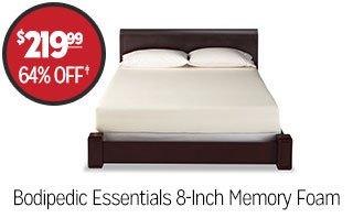 Bodipedic Essentials 8-Inch Memory Foam - $219.99 - 64% off‡