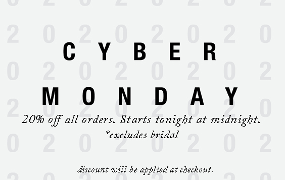 Cyber Monday starts at midnight