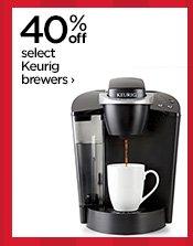 40% off select Keurig brewers ›