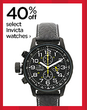 40% off select Invicta watches›