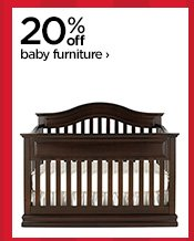 20% off baby furniture›