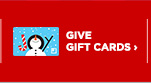 GIVE GIFT CARDS›