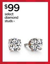 $99 select diamond studs›
