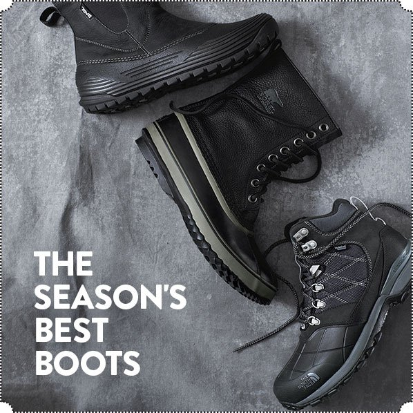 THE SEASON'S BEST BOOTS