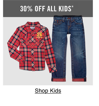 30% Off All Kids - Shop Kids