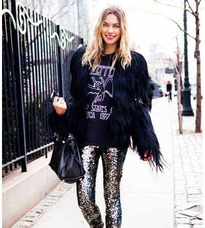 How can I wear sequins without looking like a disco ball?