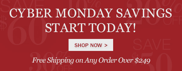 Shop Early for Cyber Monday Deals