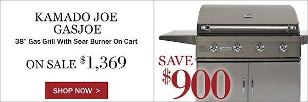 Save $900 on Kamado Joe GasJoe Grills