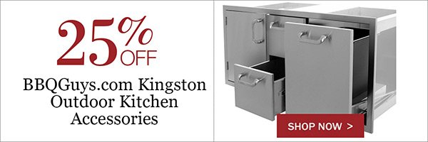 25% OFF BBQGuys.com Kingston Outdoor Kitchen Accessories