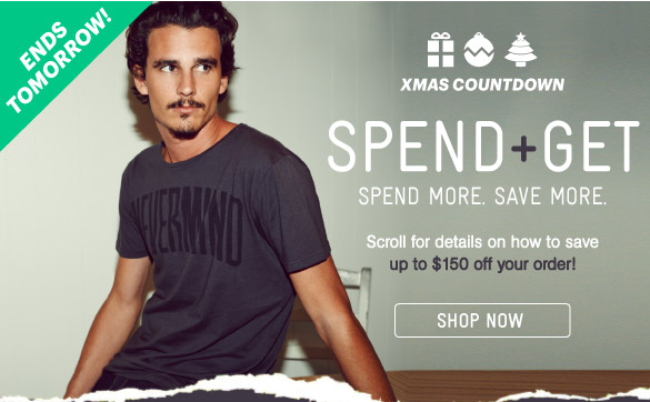 12 Days Of Christmas - Spend & Get