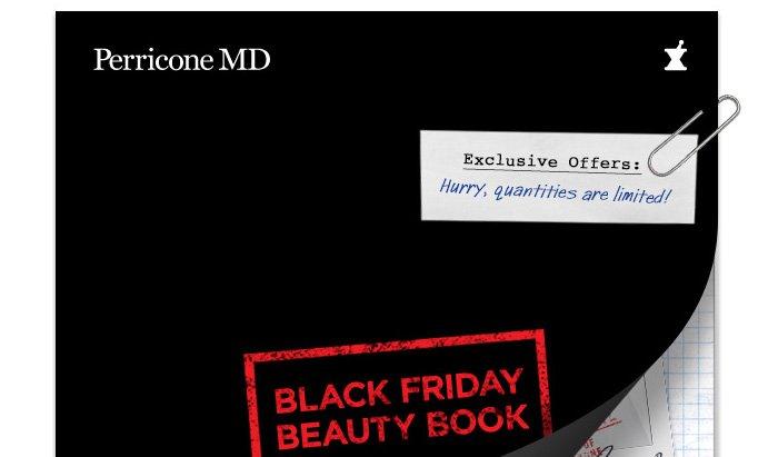 Black Friday Beauty Book