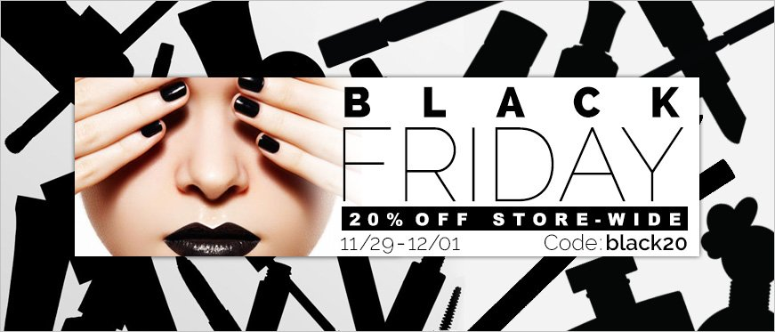 20% Off Store-Wide - Use Code Black20