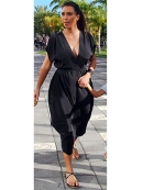 Heidi Dress in Black as Seen On Kim Kardashian and Khloe Kardashian