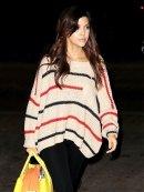 d.RA Audrey Sweater in Taupe as seen on Kourtney Kardashian