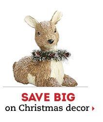 Save big on Christmas decor