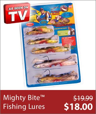 Mighty Bite™ Fishing Lure System