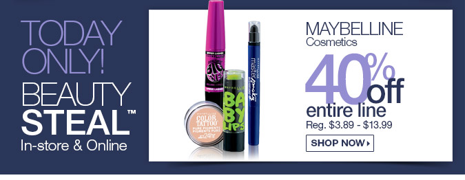 Maybelline 40% OFF - Shop Now