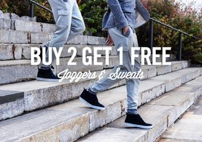 Shop Buy 2 Get 1 Free: Joggers & Sweats