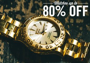 Shop Watches Up to 80% Off