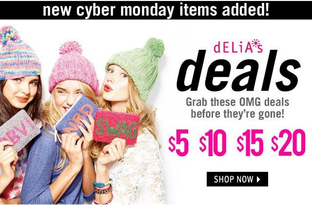 dELiA*s deals