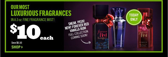 Forever Collection 3 oz Fine Fragrance Mist – $10