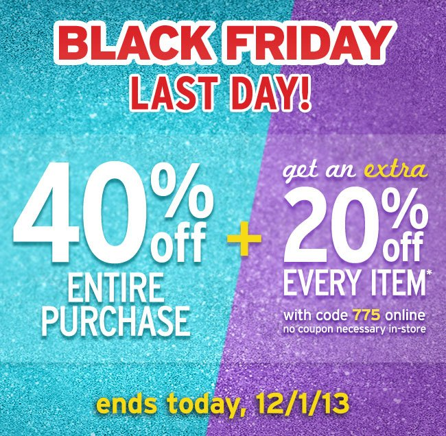 Last Day For Black Friday Deals