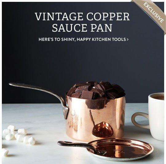 Copper Sauce Pan