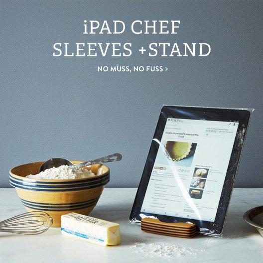 iPad Sleeve + Stand