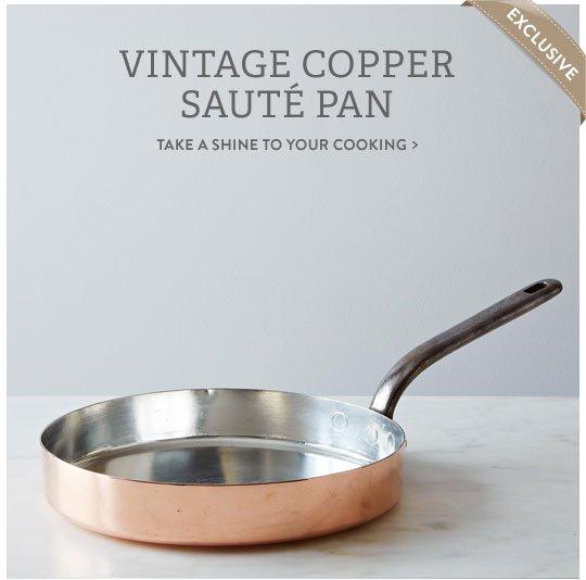 Copper Saute Pan
