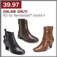 39.97 A2 by Aerosoles® boots.