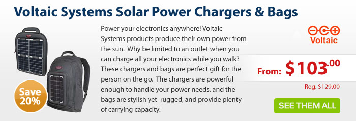 Adorama - 20% Off Voltaic