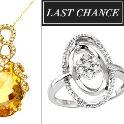Last Chance: Designer Jewelry from $1