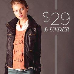 29$ & under Winter Essentials for Her